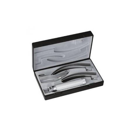 Estuche de laringoscopios ri-standard MacIntosh 2.7 V, mango tipo C, palas no. 2,3,4 - Envío Gratuito
