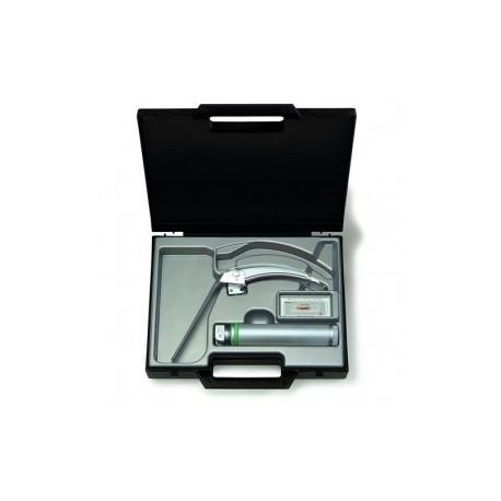 Equipo de laringoscopio con espátula FlexTip + Mac 3, con mango Standard de F.O. - Envío Gratuito