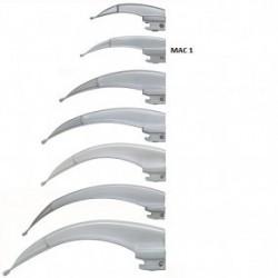 Hoja para laringoscopio de acero inoxidable Macintosh No. 1