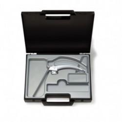 Hoja para laringoscopio de acero inoxidable FlexTip+F.O. en maletín Mac No. 3