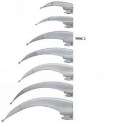 Hoja para laringoscopio de acero inoxidable Macintosh No. 2