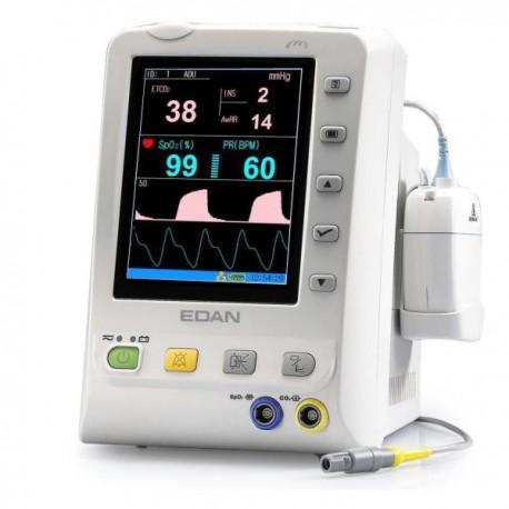 Monitor de signos vitales, capnografo con oximetro de pulso - Envío Gratuito