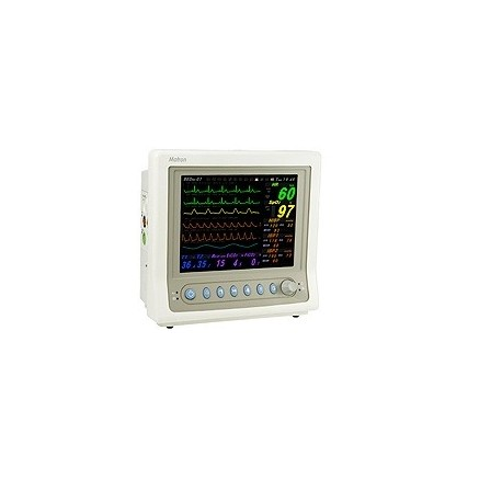 "Monitor para paciente 10.4"" 7 Parámetros con Capnografo c/impresora Mod. ""Matron"" - Envío Gratuito"