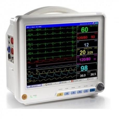"Monitor de signos vitales 12"" con 6 parametros - Envío Gratuito"