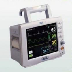 "Monitor para paciente 7"" a color 5 parametros con impresora"