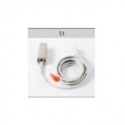 Sensor de SpO2 reusable para oximetro tamaño Adulto
