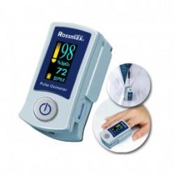 Oxímetro digital de dedo bidireccional con alarma