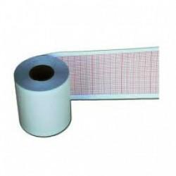 Papel para ECG rollo de 50 mm x 30 mts verde caja c/10