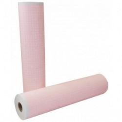 Papel para ECG rollo de 215 mm x 25 m paquete con 10 rollos