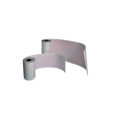 Papel para ECG rollo de 214 mm x 30 m para electrocardiógrafo 12 canales, paquete con 3 rollos - Envío Gratuito