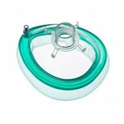 Mascarilla para anestesia No. 5, adulto mediano, aromática caja con 30 piezas