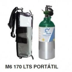 Equipo completo de oxigeno 170L - M6