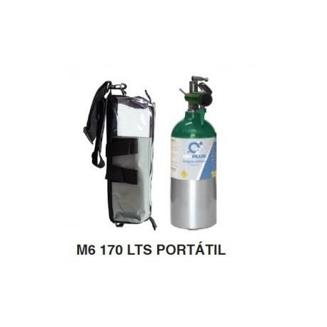 Equipo completo de oxigeno 170L - M6 - Envío Gratuito