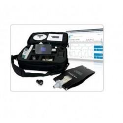 Calibrador y analizador de ventiladores medicos