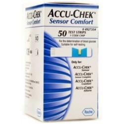 Tiras Reactivas Accu-Check Sensor 50 piezas - Envío Gratuito