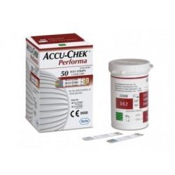 Tiras reactivas Accu-Check performa 50 piezas