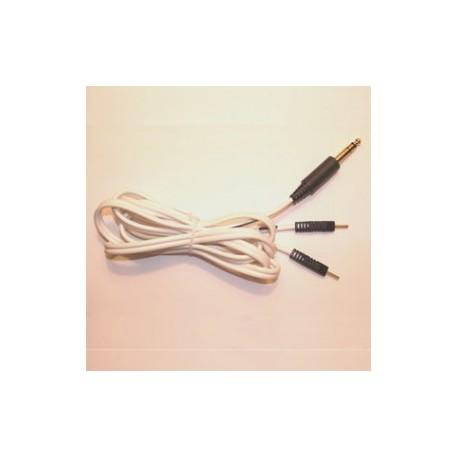 Cable estéreo 2 pin negro 1.8 M - Envío Gratuito