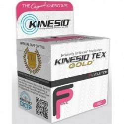 Cinta para correccion muscular kinesio gold 5.08 cm x 5 metros rojo nano-touch