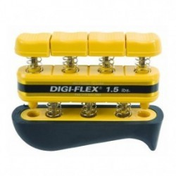 Ejercitador de dedos de 1.5 Lbs amarillo