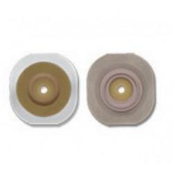 Barrera cutanea convexa flextend, precortada a 32mm y con aro flotante de 57mm con 5 piezas