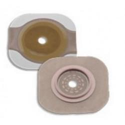 Barrera cutanea plana flextend recortable hasta 57mm, y con aro flotante de 70mm con 5 piezas