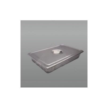 Charola para instrumental con tapa 31.5 x 19.5 x 5 cm. de acero inoxidable - Envío Gratuito