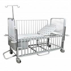 Cama pediátrica mecánica con ajuste de altura - Envío Gratuito
