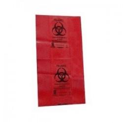Bolsa roja para residuos biológico-infecciosos 46 x 50 cm paquete con 200 piezas - Envío Gratuito