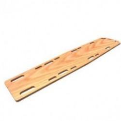Camilla rigida de madera