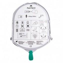 Electrodo Pad-Pak para adulto