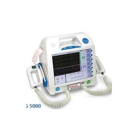 Desfibrilador 5000 básico AED con marcapaso, SPO2 y PANI - Envío Gratuito