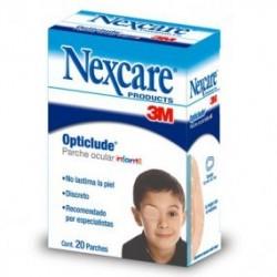 Parche ocular infantil, 10 cajas con 20 piezas