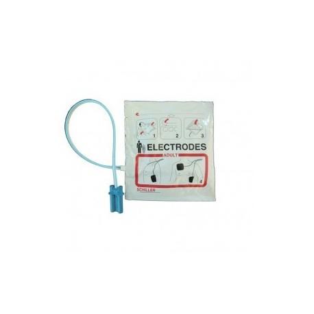 Electrodo adulto para desfibrilacion Fred Easy preconectado - Envío Gratuito