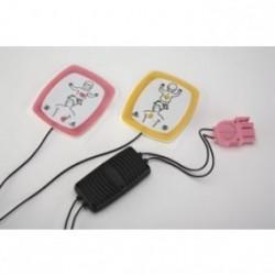 Electrodos para desfibrilación pediátricos con reductor de energía (LIFEPAK CRplus/1000)