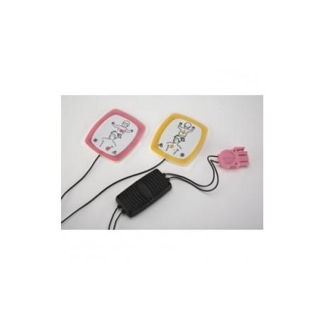 Electrodos para desfibrilación pediátricos con reductor de energía (LIFEPAK CRplus/1000) - Envío Gratuito
