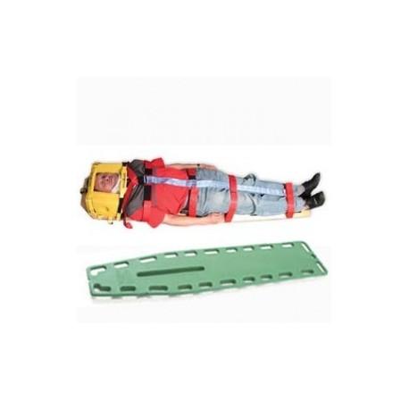 Kit de inmovilización integral, con camilla de plástico, collarin e inmovilizadores - Envío Gratuito