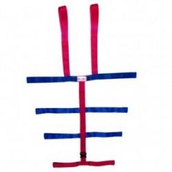 Sistema de fijación tipo araña con sujetador de 10 puntos