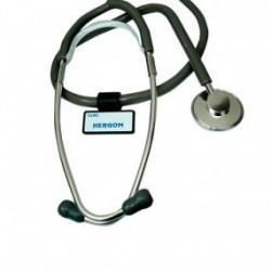 Estetoscopio pediátrico simple negro