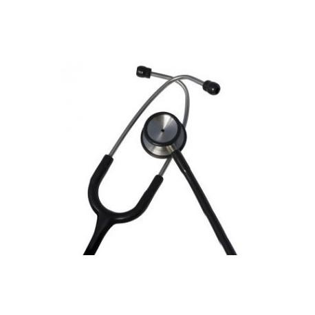Estetoscopio doble campana deluxe color azul y negro - Envío Gratuito