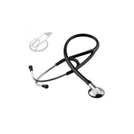 Estetoscopio profesional Medstar de alta precisión acústica color negro - Envío Gratuito